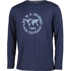 High Colorado Wallis 3 - T-shirt manches longues Homme - bleu